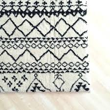 black and white aztec rug best black and white rug in inspirational rugs ideas with black