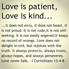 Quote From The Bible About Love