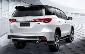 2018 toyota diesel. Modren 2018 2018 Toyota Fortuner Rear With Toyota Diesel