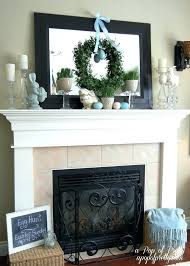 fireplace mantel ideas with tv fireplace mantle decor on mental decorated fake facade can i frames