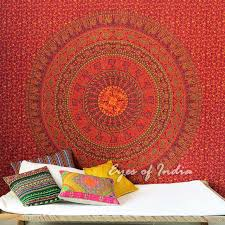 mandala boho tapestry hippie wall hanging hippie bedspread large queen