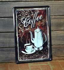 co412  on decorative metal wall art shop with 2018 tin sign coffee metal decor wall art garage shop store cave