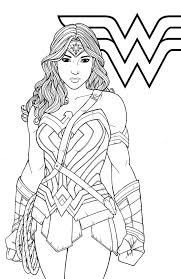 Home/top superman coloring pages/wonder woman coloring page. Wonder Woman Wonder Woman Drawing Coloring Books Superhero Coloring