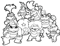 Super Mario Odyssey Color Pages Printable Coloring Pages Download Or