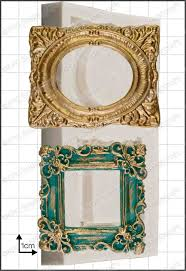 picture frames ornate silicone mould