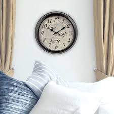 chaney wall clock inch live laugh love wall clock chaney 24 inch wall clock chaney wall chaney wall clock