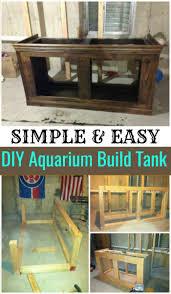 15 diy aquarium stand plans diy home decor