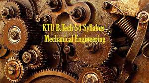 KTU B.Tech S4 Syllabus Mechanical Engineering - KTU B.TECH QUESTIONS