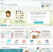 Top 10 Wedding Websites Home