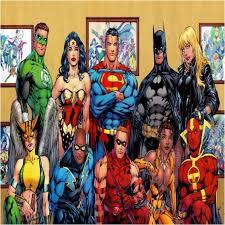 dc comics superhero bedding design