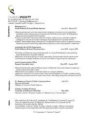 Resume Project | Picott, C. To say ...