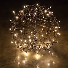 lightlls how to make lighted stunning hang outdoor ball lights for trees full size