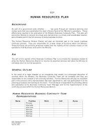 Strategic Plan Template Human Resources Hr Plan Template Hr