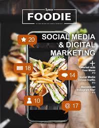 Sysco Menu Design Digital Foodie Social Media And Digital Marketing By Sysco
