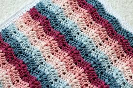 Blanket Patterns Stunning Crochet Patterns Galore Ruby Baby Blanket