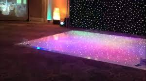 Led Twinkle Light Dance Floor Youtube
