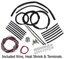 wire harness kits for motorcycle building and re wiring 12 volt wire harness kit for custom motorcycle use from wire plus
