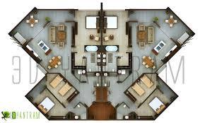 3d hotel floor plan design modeling studio amsterdam europe