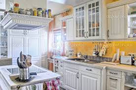 Small Rustic French Country Style Kitchen Ideas With White Wooden Country Style Kitchen