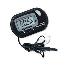 Newest <b>Digital LCD Screen</b> Sensor Aquarium <b>Water</b> Thermometer ...
