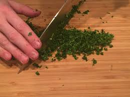 How to cut parsley | SteelBlue Kitchen