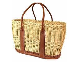 garden party hermes. Hermes Limited Edition Picnic Garden Party Straw \u0026 Leather Tote Bag