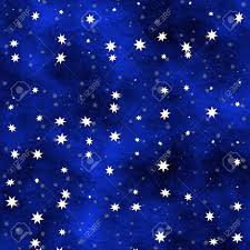 Many stars scattered in a blue painted ceiling Stock Photo - 7028751