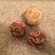 Decorative Ceramic Balls Sale Delectable Best 32 Decorative Ceramic Balls Excellent Condition For Sale In