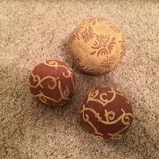 Decorative Ceramic Balls Sale Delectable Best 32 Decorative Ceramic Balls Excellent Condition For Sale In
