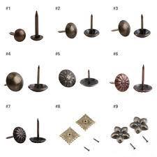 Decorative nails for furniture Copper 100pcs Vintage Upholstery Nails Decorative Furniture Sofa Shoe Door Tack Stud Ebay Furniture Nails Ebay