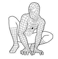 Hơn 150 Tranh Tô Màu Siêu Nhân Nhện Spider Man Cực Hot Cho Bé Trai 2021