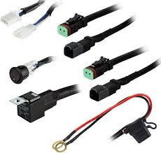 heise he dlwh1 two lamp wiring harness switch kit universal heise he dlwh1 two lamp wiring harness switch kit universal plug and play wiring harness on off rocker switch 12v dc relay 30a fuse 2 pin dt