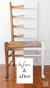 furniture makeover using diy chalk paint
