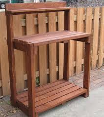 Potting Bench Plans Potting Benches Plans Gustitosmios