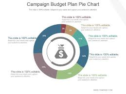 Campaign Budget Plan Pie Chart Powerpoint Ideas Powerpoint