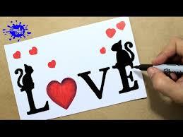 o dibujar love how to draw love letters targetas de amor