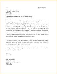 Resignation Letter Format For Lecturer Due To Marriage New Resigning ...