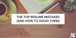 The Top Resume Mistakes And How To Avoid Them Cooperative Education