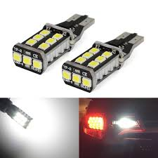 High Intensity Backup Lights T15 921 Canbus Led Back Up Bulbs Reverse Light White