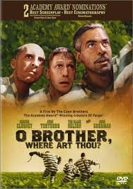 o brother where art thou pictures photos images in the deep south during the three escaped convicts search for hidden treasure while a relentless lawman pursues them this is a great funny coen brothers
