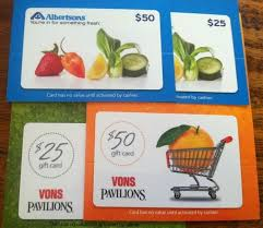 From our deli, bakery, fresh produce and helpful pharmacy staff, we've got you covered! Vons And Albertsons Gift Cards At Staples