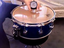 Tuning A Snare Drum With The Drum Dial