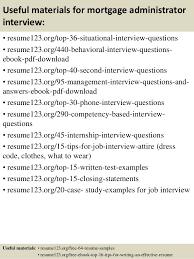 Mortgage Administrator Sample Resume Top 100 mortgage administrator resume samples 2