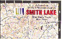 Smith Lake Depth Chart Smith Lake Al Fishing Map Keith Map Service Inc