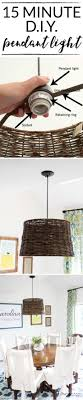 this blogger made this diy light in about 15 minutes