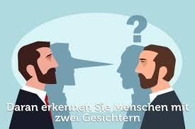 Zwei Gesichter Woran Sie Falschheit Erkennen Karrierebibelde