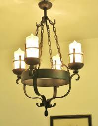 gothic chandelier wrought iron gorgeous vintage french wrought iron chandelier light lamp glass candles gothic chandelier wrought iron