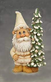 winston cute winter gnome paint your