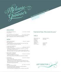 Resume Melanie Groover