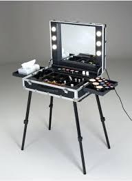 portable makeup station be slim make up station with i light system portable makeup station with lights india